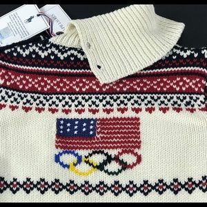 Other - Ralph Lauren Sochi Winter Olympics flag sweater L
